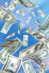 Манна с неба - к денежкам
