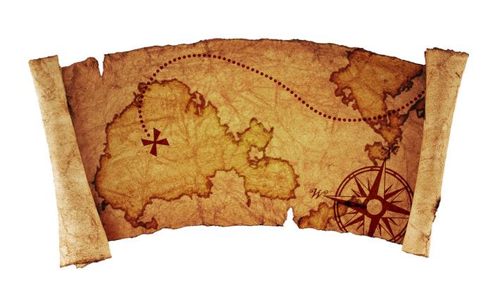 карта сокровищ для исполнения желаний