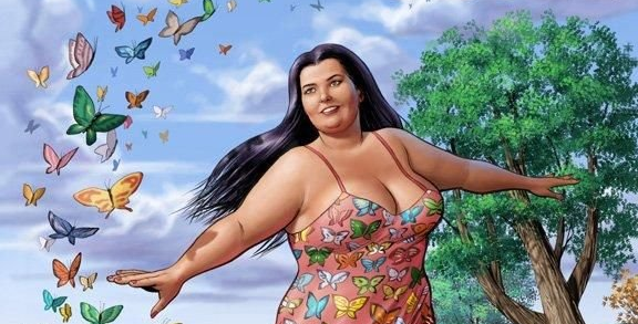 Единственная и неповторимая толстушка